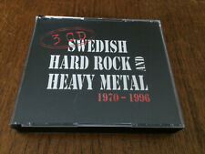SWEDISH HARD ROCK and HEAVY METAL 1970-1996 3-CD Madison Torch Spellbound Treat