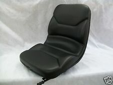 HIGH BACK BLACK SEAT BOBCAT S130,S150,S160,S175,S185,S205,S220,SKID STEER #ON