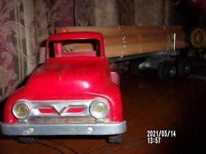 50's Tonka Ford Logging Truck