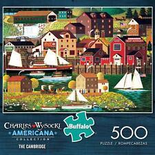 BUFFALO GAMES JIGSAW PUZZLE THE CAMBRIDGE CHARLES WYSOCKI 500 PCS #3712