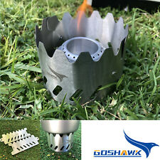 Outdoor Windshield Camping Alcohol Stove Stent Pot Burner Bracket Support Holder