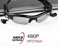 Smart Sunglasses Spied Mini Glasses Camera Video Recorder MP3 Player Cam Glass