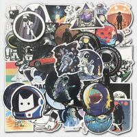 100Pcs Space Skateboard Sticker bomb Vinyl Laptop Luggage Decal Dope Sticker Lot