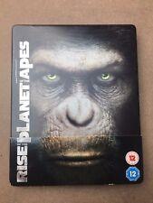 Rise Of The Planet Of The Apes Blu Ray Steelbook (Rare & OOP) MetalPak