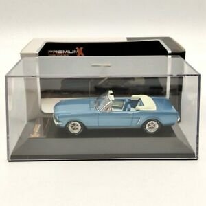 Premium X 1:43 FORD MUSTANG Convertible 1965 PRD250 Blue Diecast Models