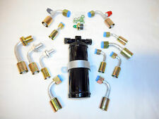 A/C FITTING KIT,O RING,UNIVERSAL, W/DRIER,GENERAL USE 6,8 & 10 BULKHEAD FITTINGS