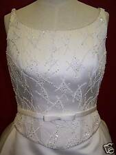 $1100~NWT~ivory~sz.10~bridal gownMOVING SALE CLOSEOUT