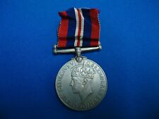 GEORGIVS VI WAR MEDAL WWII ENGLISH SOUTH AFRICA NAMED 177464 A. HURVITZ