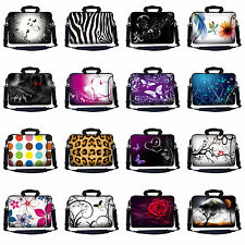Laptop Notebook Case Sleeve Computer Messenger Bag with Pocket Shoulder Strap