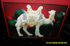 Lenox.First Blessing Nativity Purple Saddle Standing Camel  New IN Box