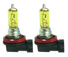 H9 12V 55W High Beam Fog Light Bulbs Xenon Yellow Direct Replace OEM Lamp U191