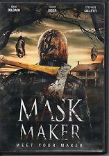 MAKE OFFER FREE SHIP Mask Maker DVD horror terror slasher