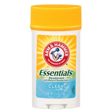Arm & Hammer Essentials Solid Deodorant, Clean 2.5 oz (Pack of 2)