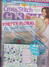 Punto de Cruz Loco GB Revista Marzo 2014 , Sellado W/2 Regalo Gratis, Kat Knight