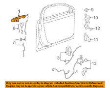 Buick GM OEM 06-11 Lucerne-Outside Exterior Door Handle Left 25947661