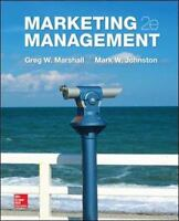 Marketing Management 2nd Edition by Greg W. Marshall  (2014, Hardcover)