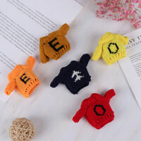 1Pc 1:6 1:12 Dollhouse Miniature Knitted Sweater for Dolls Clothing Accessor Fy
