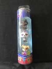 Littlest Pet shop Winter Time Tube Owl Racoon Dog Boxer 449 450 451 NEW