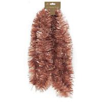 2m Chunky Dark Copper Tinsel - Xmas Tree Decoration,Holly Berry,Star Garland