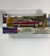 New City Cruiser Collection Chrysler Turbine Convertible 1964 1/43 Scale in Red