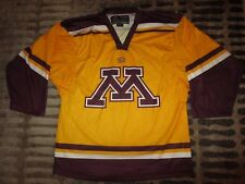 Minnesota Golden Gophers Easton Hockey Jersey M Med