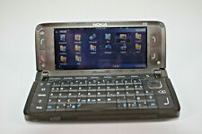 NOKIA E90 Klapphandy braun 4 Zoll Bildschirm (B815)