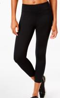 Calvin Klein NWT Black Performance Cropped Leggings, Size XS        II07