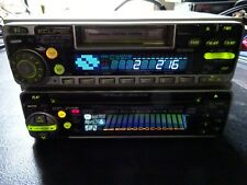 OLD SCHOOL ECLIPSE DUAL DECK DESIGN TAPE CD DSP EQUAILZER MADE IN JAPAN