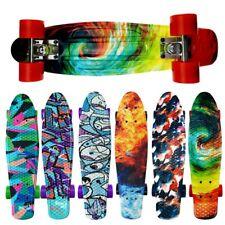 22'' Cruiser Skateboard Penny Style Board Graphic Skull Free Shipping