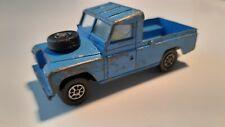"Corgi Toys WhizzWheels Land Rover 109"" WB blue"