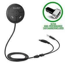 SoundBot SB360 Bluetooth 4.0 Car Kit Hands-Free Wireless Talk & Music Streaming