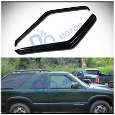 2pcs Front Vent Shade Window Visors Fit S10/Sonoma/Hombre & Blazer/Jimmy 2-Door