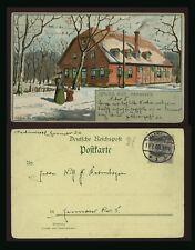cartolina-postcard-postkarte-carte postale GRUSS AUS HANNOVER