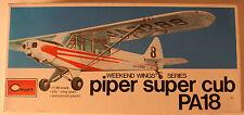 USA Piper PA-18 Super Cub, 1/48 Academy kit 1611 Shrinkwrapped, Airplane Model