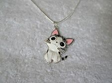 CHI'S SWEET HOME CAT Kitty Inspired Large Charm NECKLACE