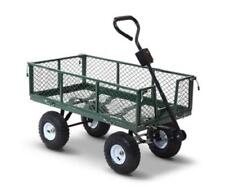 Outdoor Garden, Dirt, Plants, Tools Transport Trolley Carrier Cart - Holds 365kg
