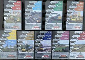 TeleRail Rail Freight Today ~ Railway VHS Videos ~ Choice of Titles