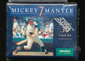 SEALED MINT PINNACLE SET 30) MICKEY MANTLE HOF SCORE BOX NEW NIB EXCLUSIVE TPHLC