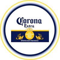 "Corona Beer Alcohol 7""/18cm Edible Image Cake, Cupcake Toppers /Pub"