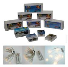 LED Alambre con Luces Guirnalda de Luces 10-20er Varios Modelos, Hobbyfun