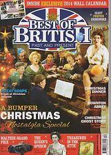 BEST OF BRITISH PAST & PRESENT MAGAZINE DECEMBER  2013