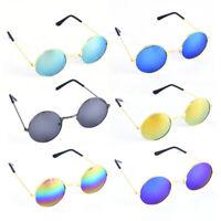 Kids Vintage Retro Round Mirrored Sunglasses Eyewear Outdoor Sports Accessories
