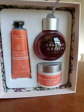 Crabtree & Evelyn Pomegranate & Argan Oil Hand Therapy Body Cream Shower Bauble