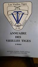 rare! - Annuaire des Vieilles Tiges 1985