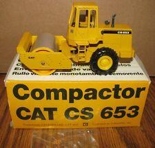 *Caterpillar CS653 Roller Articulated Vibratory Compactor 1/50 Conrad Toy 2889