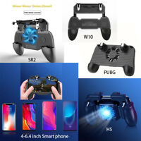 For PUBG Game Gamepad Trigger Controller Joystick Shooter Gamepad w Cooler New
