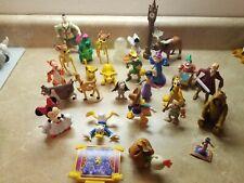 Disney Toy Story Pixar Figures Lot of 27 Mulan Tiger Donald Simba Cake Toppers