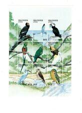 VINTAGE CLASSICS - MALDIVES 9704 - Birds - Sheetlet of 9 Stamps - MNH