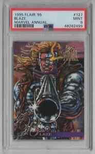 1995 Flair '95 Marvel Annual #127 Blaze - PSA 9 MINT - NEWLY GRADED   (LL11)