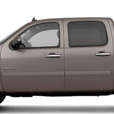 Fits: GMC SIERRA CREW CAB 2007 - 2013 PAINTED BODY SIDE MOLDING FE2-SILVERADO-CC